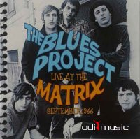 Cover Album of The Blues Project - Live At The Matrix September 1966 (CD, Album)