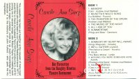 Cover Album of Carole Ann Sings - Carole Ann & Terry Gills - Carole Ann Sings - Her favourites from the naughty nineties theatre restaurant