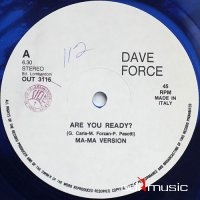 Dave Force - Are You Ready (Vinyl, 12'') 1987