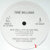Tene Williams ‎– Give Him A Love He Can Feel (Promo VLS) (1993)