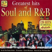 Various - 120 Greatest Hits Of Soul And R&B (CD) (8CD Box) 120