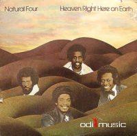 Natural Four - Heaven Right Here On Earth (Vinyl, LP, Album)