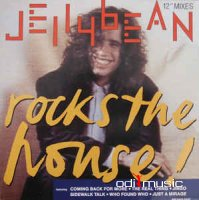 Jellybean - Jellybean Rocks The House! (Vinyl, LP, Album)