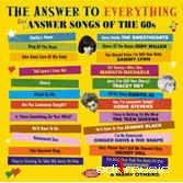 Various - The Answer To Everything Girl Answer Songs Of The 60s (CD)