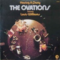 Cover Album of The Ovations feat. Louis Williams - Having A Party (Vinyl, LP)