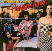 Cover Album of Private Lines - Trouble In School (Vinyl, LP, Album)