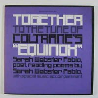Cover Album of Sarah Webster Fabio - Together to the Tune of Coltranes Equinox - 1977
