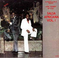 "Cover Album of Laba Sosseh - Salsa Africana Vol. 1 (Monguito El Unico Presents Laba ""Sosseh"" In U.S.A.)"