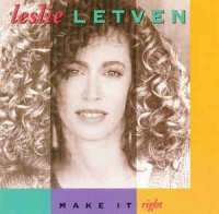 Cover Album of Leslie Letven - Make It Right (CD, Album)