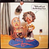 "Dean Friedman - ""Well, Well,"" Said The Rocking Chair. (Vinyl, LP)"