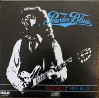 Cover Album of Powder Blues - Red Hot True Blue (Vinyl, LP, Album)