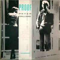 Cover Album of Peter Gallway - Proof (Vinyl, LP, Album)