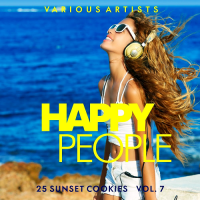 Cover Album of HAPPY PEOPLE, VOL. 7 (25 SUNSET COOKIES) (2018)