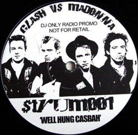 Clash Vs Madonna - Well Hung Casbah (STRUM001) (2005)
