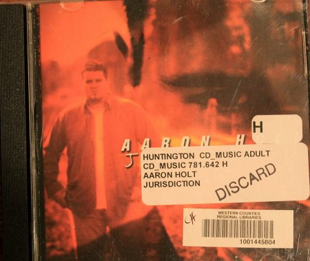 Aaron Holt - Jurisdiction CD (2003)
